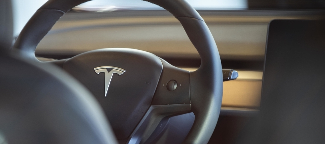 Tesla interieur