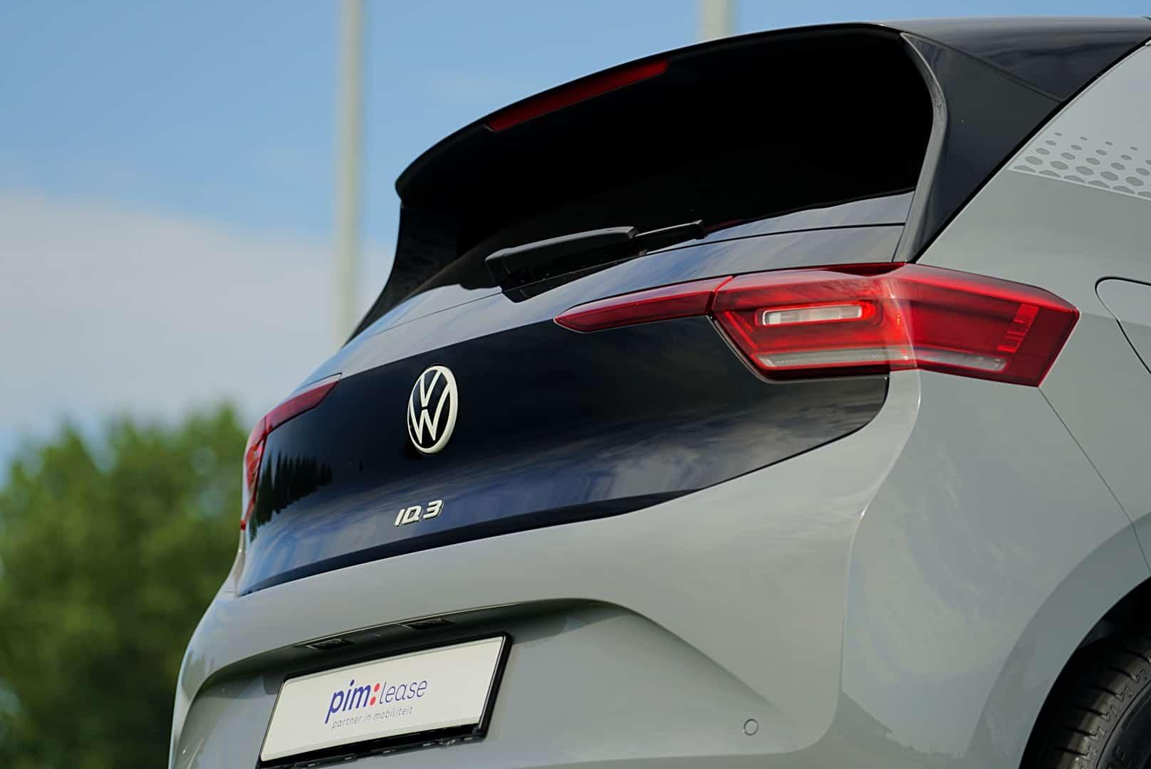VW ID.3 achterkant dichtbij
